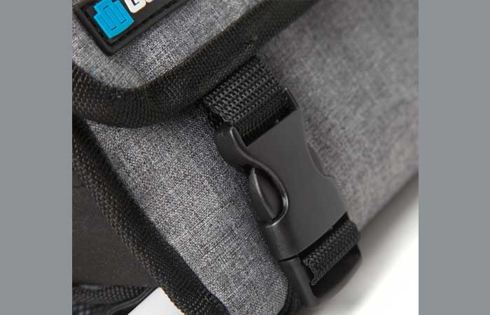 the material of Weather Resistant Roll-Up Case for GoPro Cameras by GoPole