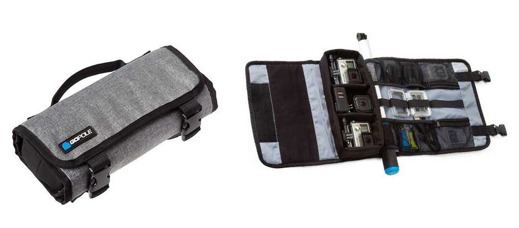 WEATHER RESISTANT ROLL-UP CASE FOR GOPRO CAMERAS BY GOPOLE