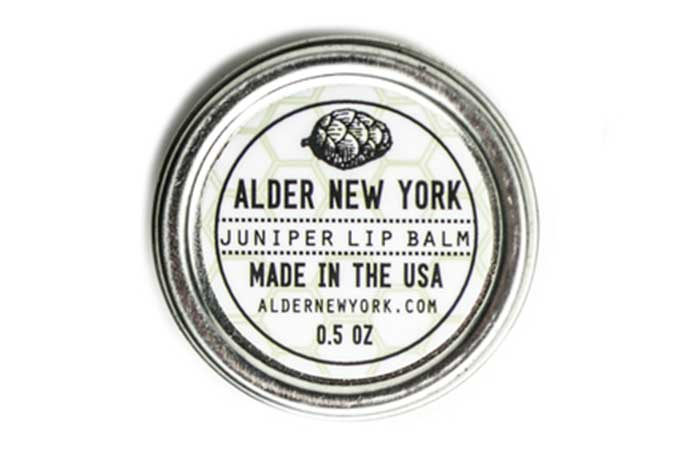 Alder New York Juniper Lip balm