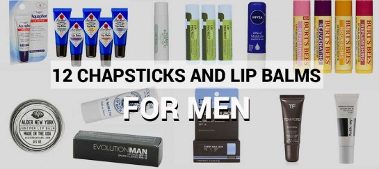 We Found The 12 Best Chapsticks and Lip Balms for Men Out There