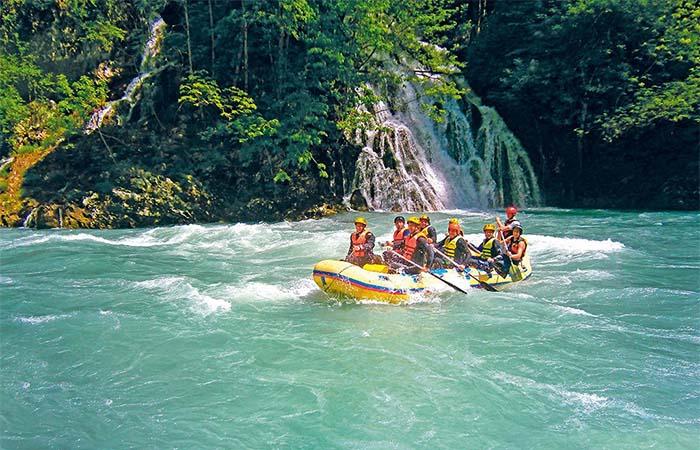 Serbia wild river rafting
