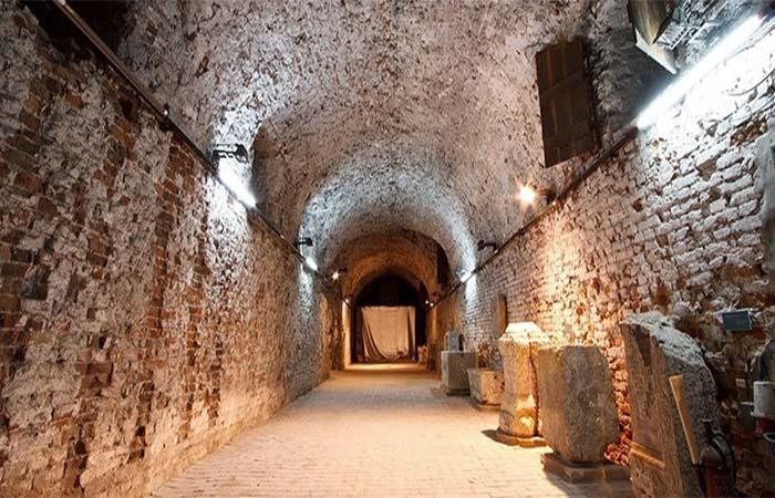 Belgrade underground tunnels