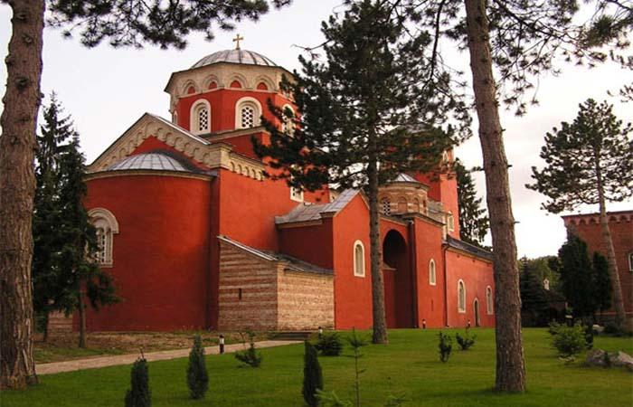 Zica monastery Serbia