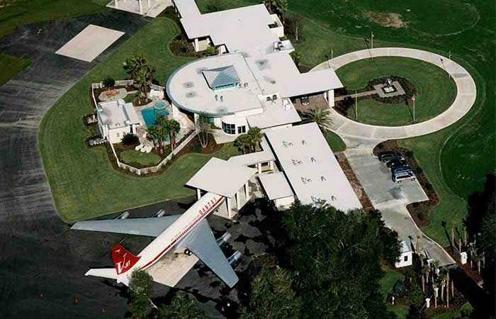 John Travolta's Airport Home