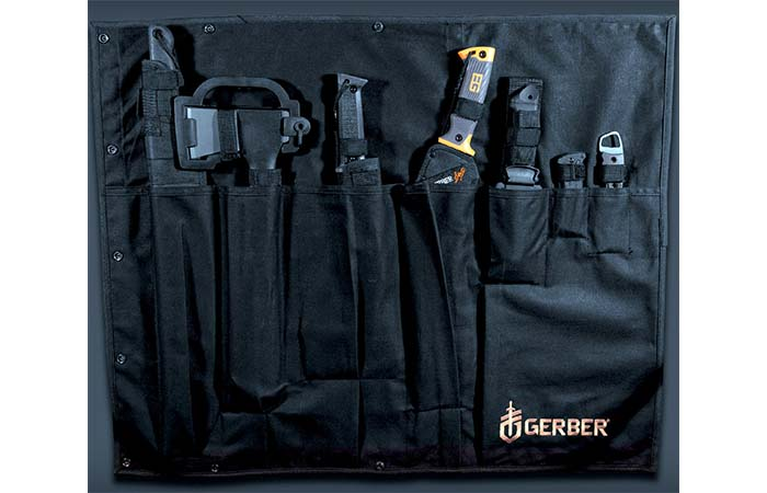 Gerber Survival Kit In Black Rollable Case
