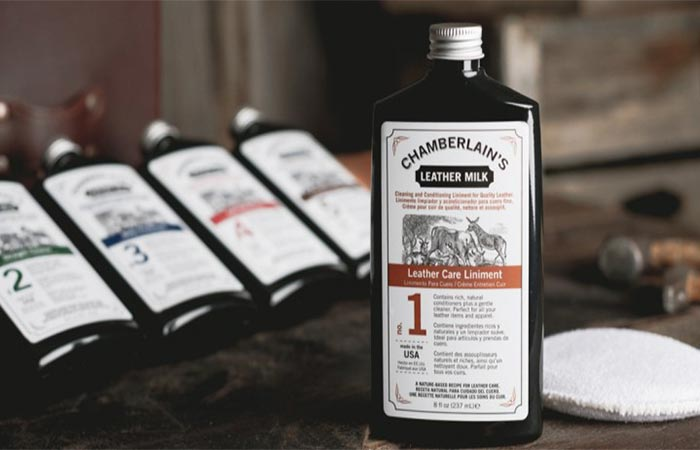 Chamberlain's Leather Care Liniment No. 1 With The Cotton Pad