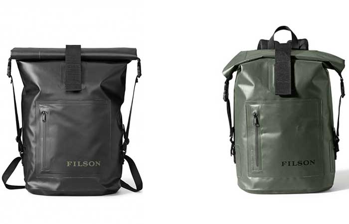 Dry Day backpack black and green