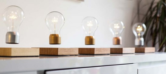 Flyte | Levitating Light Bulb That Gets Energy From The Air