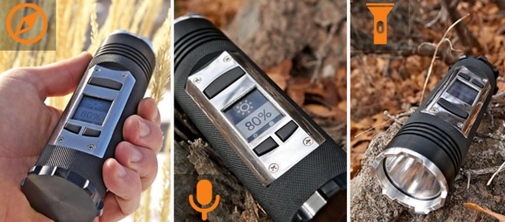 Fogo Flashlight Multi-Purpose Adventure Gadget