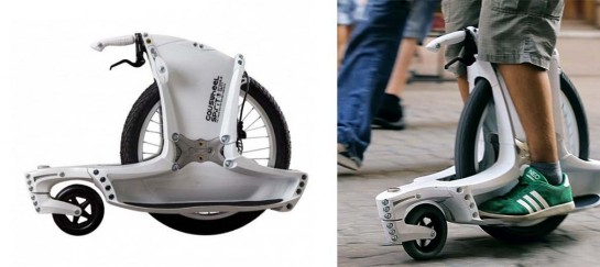 Gauswheel Spirit   2 Wheel Unicycle