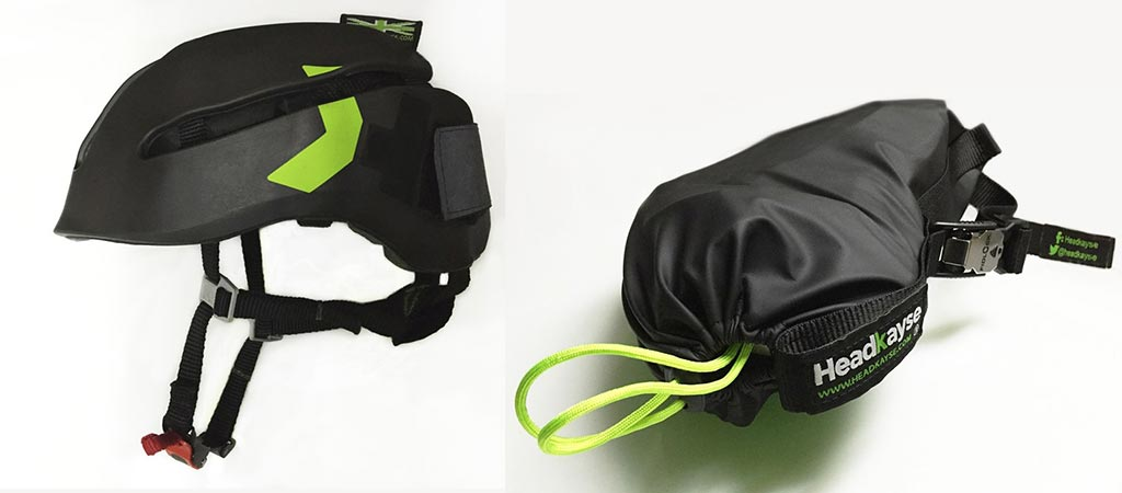 Headkayse A Soft And Packable Bicycle Helmet