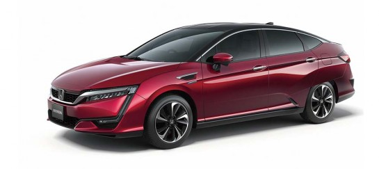 The New HONDA Clarity Fuel Cell Sedan
