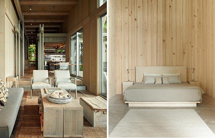 Jim Olson's Cabin Retreat inside