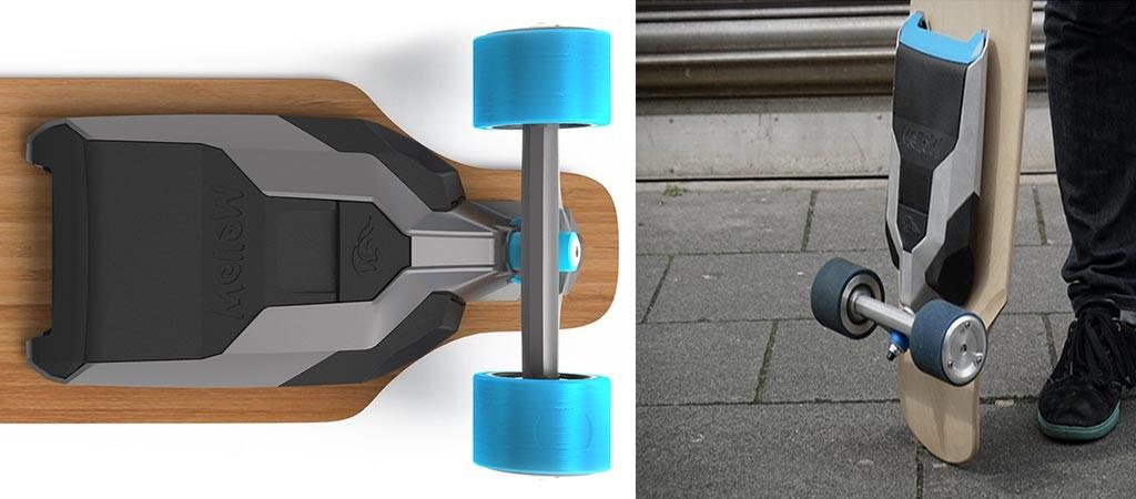 Mellow Drive  Universal Electric Drive Addon For Skateboards  Jebiga Design \u0026 Lifestyle