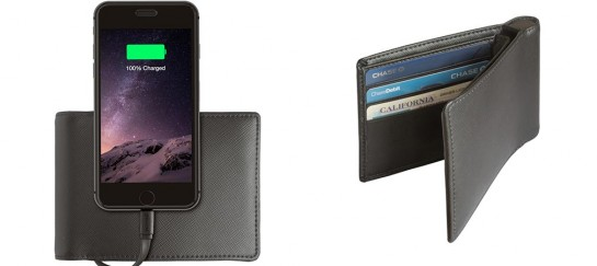 Wallet For iPhone With 2,400mAh Battery | By Nomad