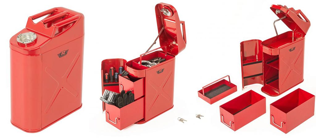 Rampage Trail Can and Utility Tool Box Every Off-Roaders Dream