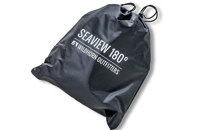 Seaview 180° Full-Face Snorkel Mask in a bag