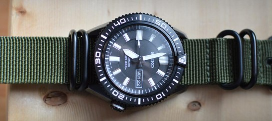 Seiko SKZ329 Automatic Diver's Watch