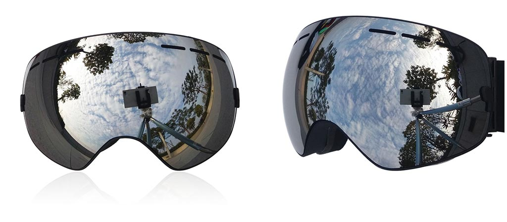 Snow Goggles with Detachable Lens By Zionor