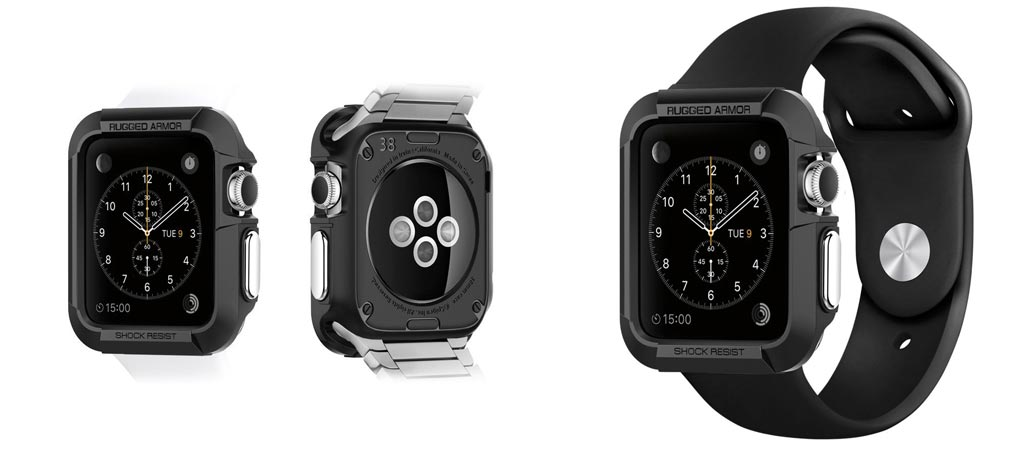 Rugged Apple Watch Case By Spigen