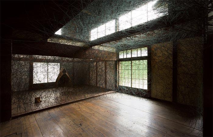 Chiharu Shiota, House Memory, 2009–ongoing