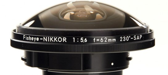 The Nikon Fisheye Nikkor Lens