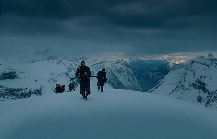 Leonardo Dicaprio's Team Climbing The Mountain