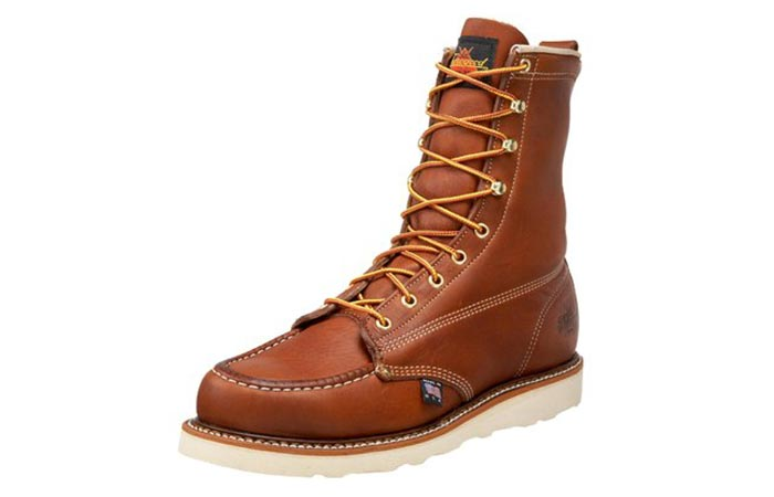 "Thorogood Men's American Heritage 8"" Moc-Toe Boot"