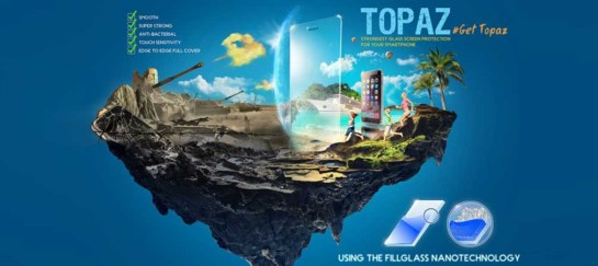 Topaz – World's Strongest Glass Screen Protector for iPhone 6