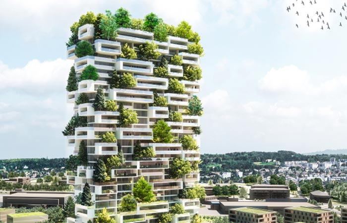 Vertical Forest Building Planned For Switzerland By
