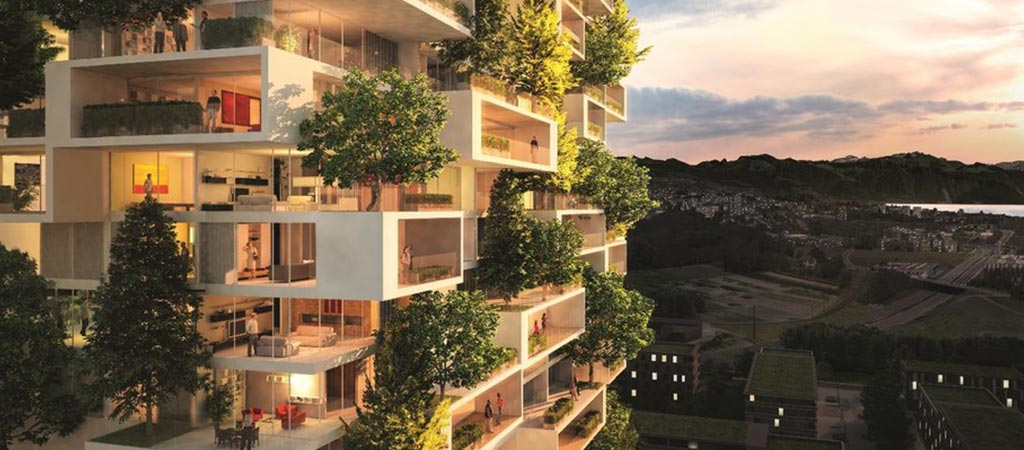 Vertical Forest Building Planned For Switzerland