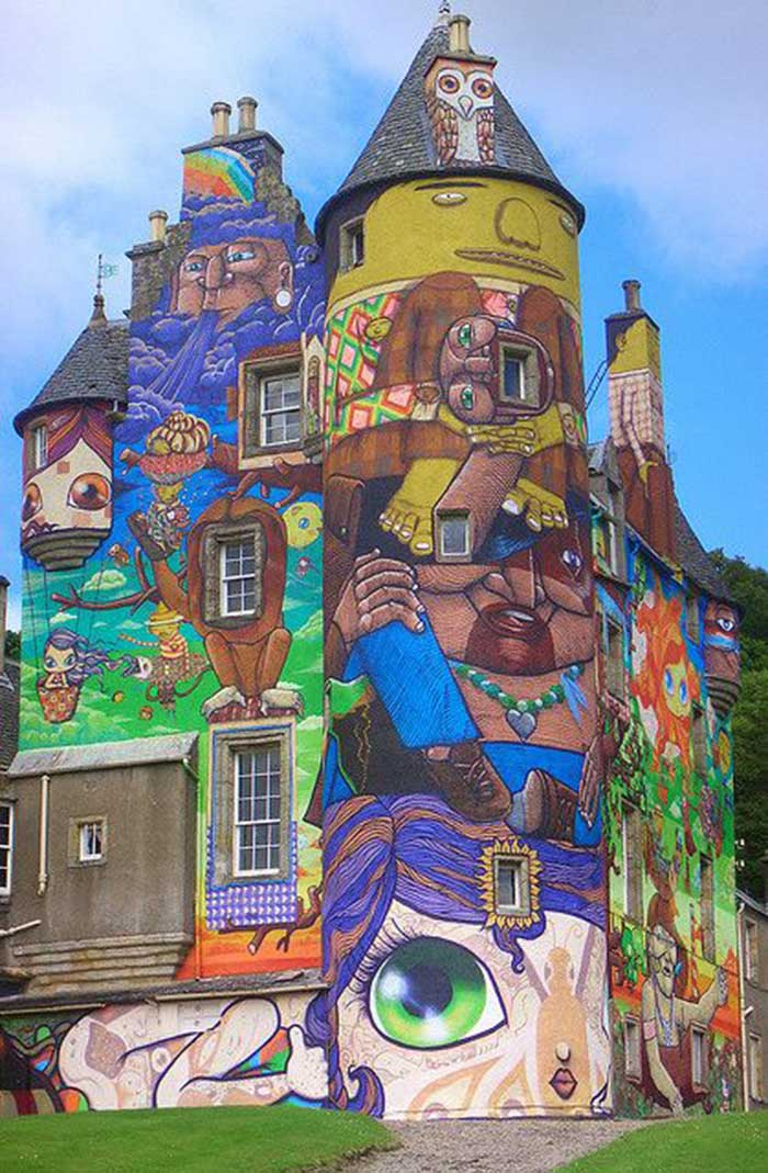 Kelburn Castle, Scotland