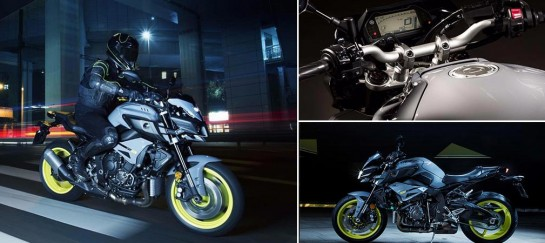Yamaha's MT-10 Naked R1 Motorcycle Is Dark And Mighty