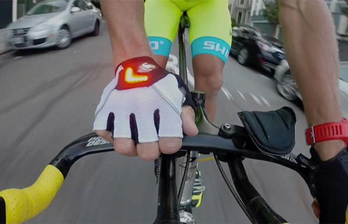 Light-up Bicycle Gloves
