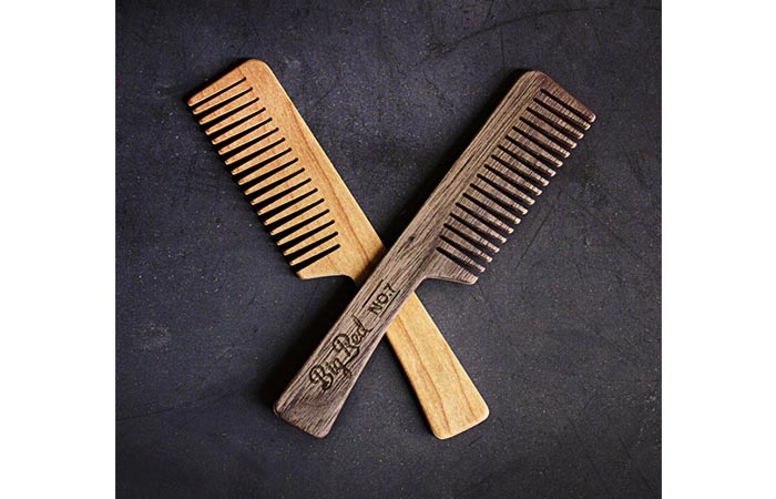 Big Red Beard Comb No.7