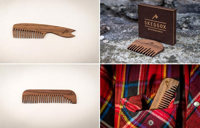 The Skeggox Beard Combs