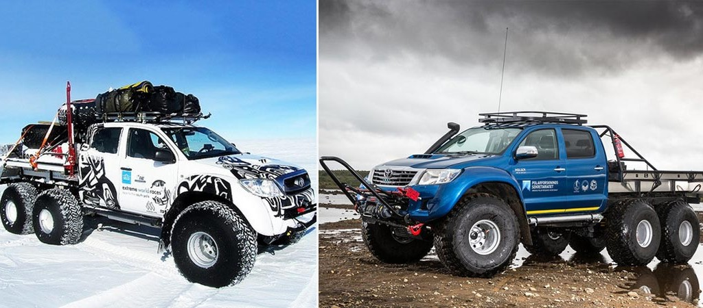 Hilux AT44 6×6 Arctic Truck
