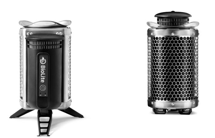 Black limited edition Biolite Campstove