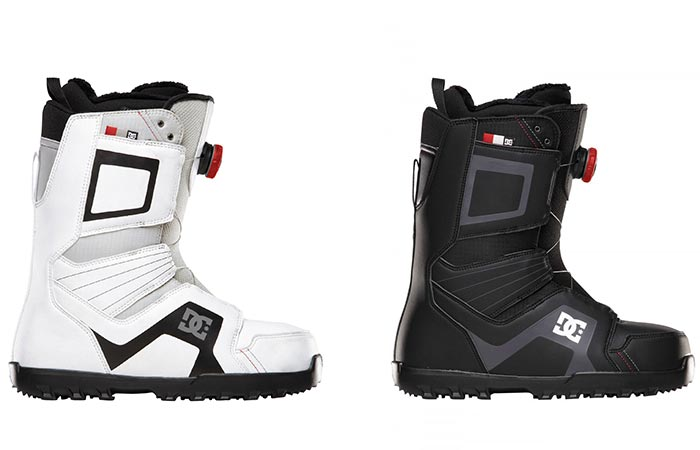 White And Black DC Men's Scout Snow Boot