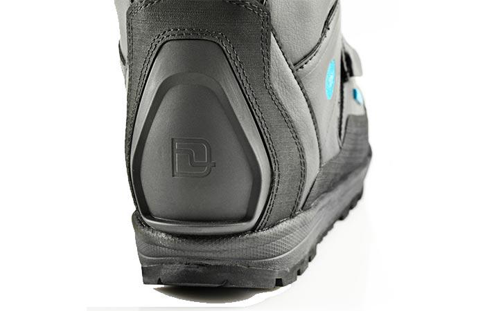 Deeluxe XVe Snowboarding Boots plastic backwelt