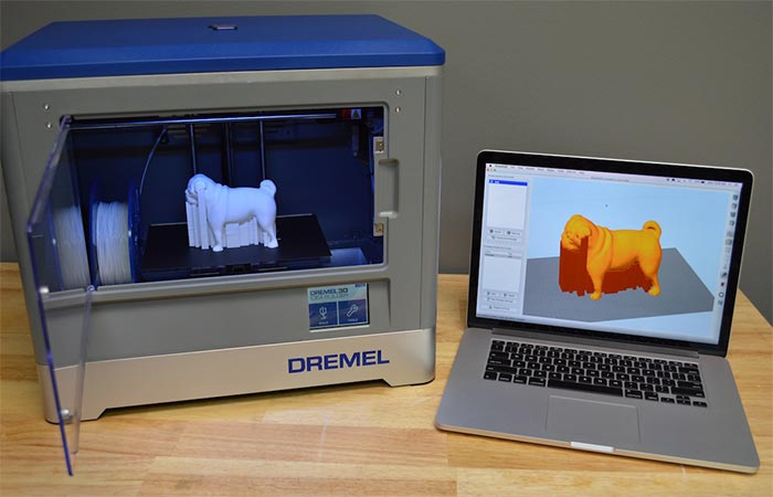 3D modeling and printing on Dremel Idea Builder 3D Printer