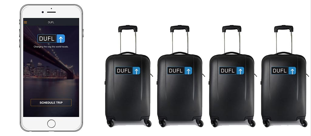 Dufl | A Service That Packs And Ships Your Suitcase