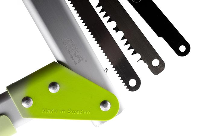 EKA Viking Combi Compact Saw Three Blades