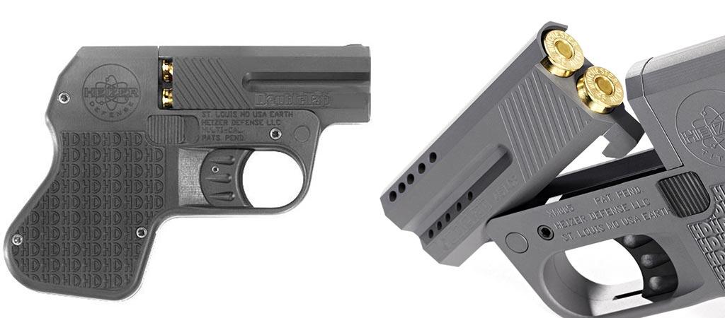 Heizer Defense DoubleTap Self-Defense Handgun