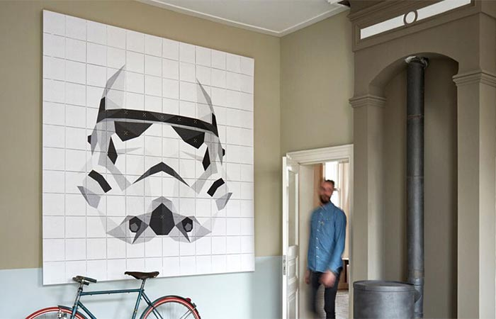 Stormtrooper from IXXI Star Wars Icons Collection