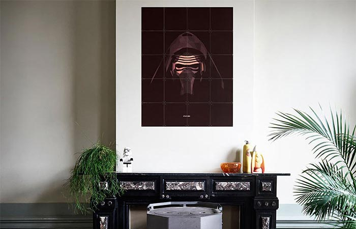 Kylo Ren from IXXI Star Wars Icons Collection