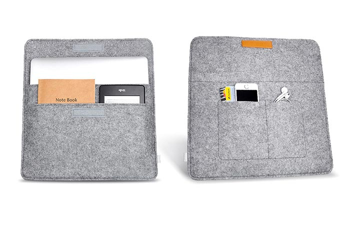 Inateck Sleeve Case Cover Inside Pockets