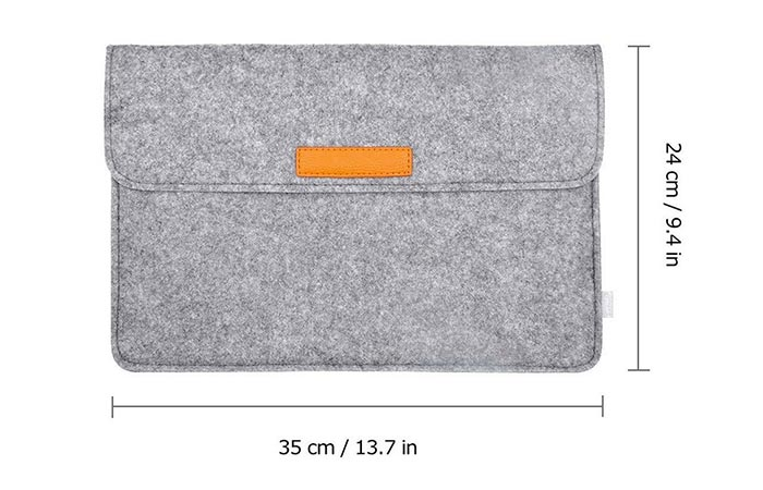 Dimentions Of Inateck Sleeve Case Cover