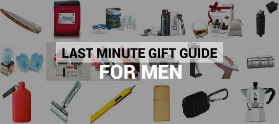 Last Minute Gift Guide For Men