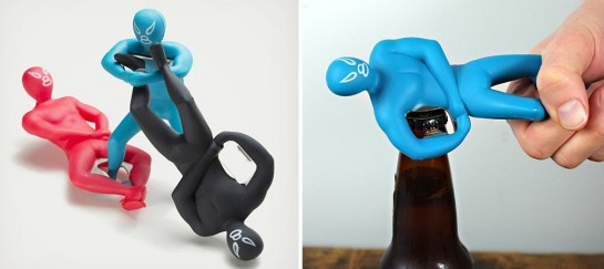 Luchador Bottle Opener | By Kikkerland